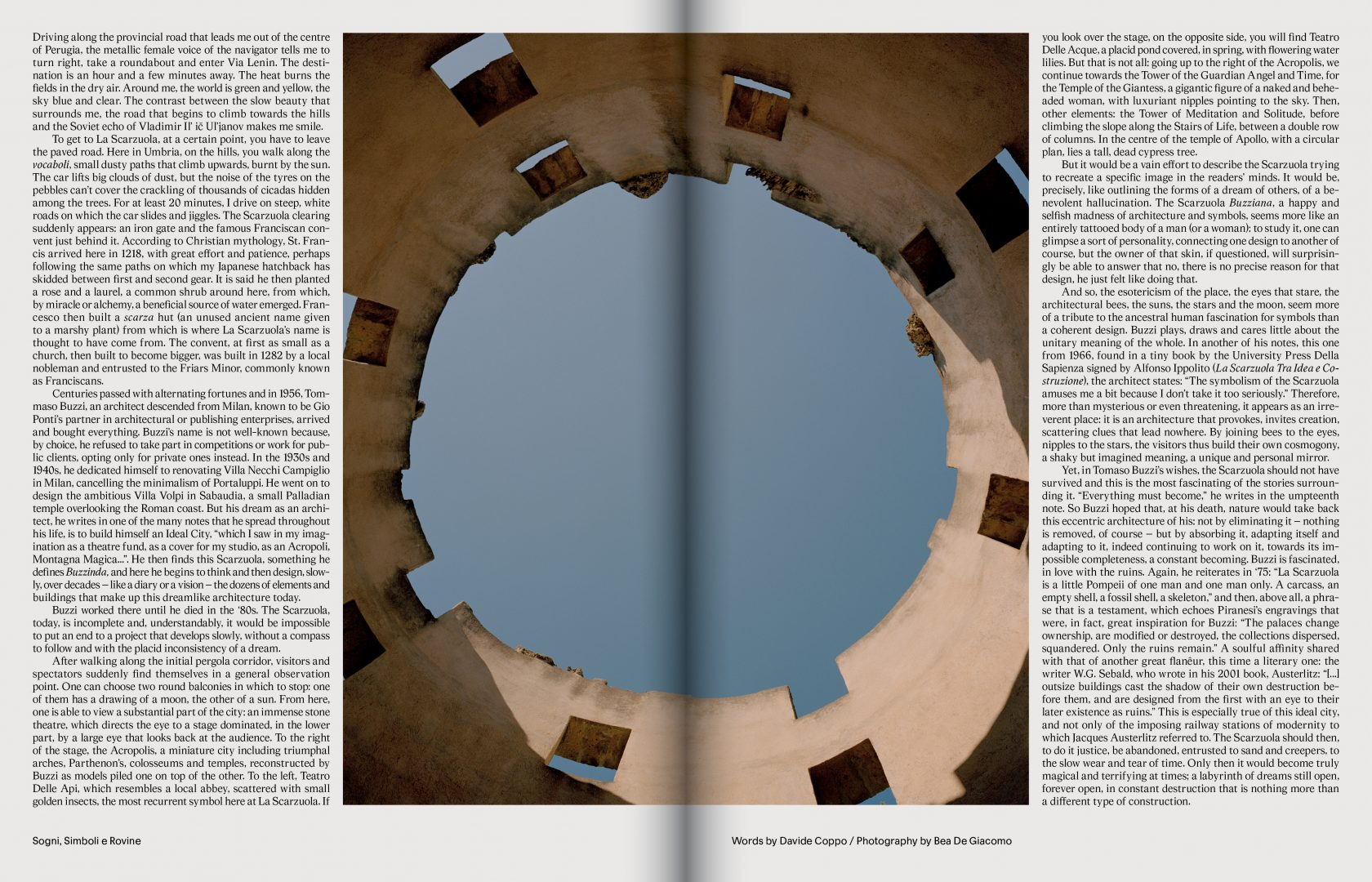 Sali e Tabacchi Journal N°01, Photographed by Bea De Giacomo