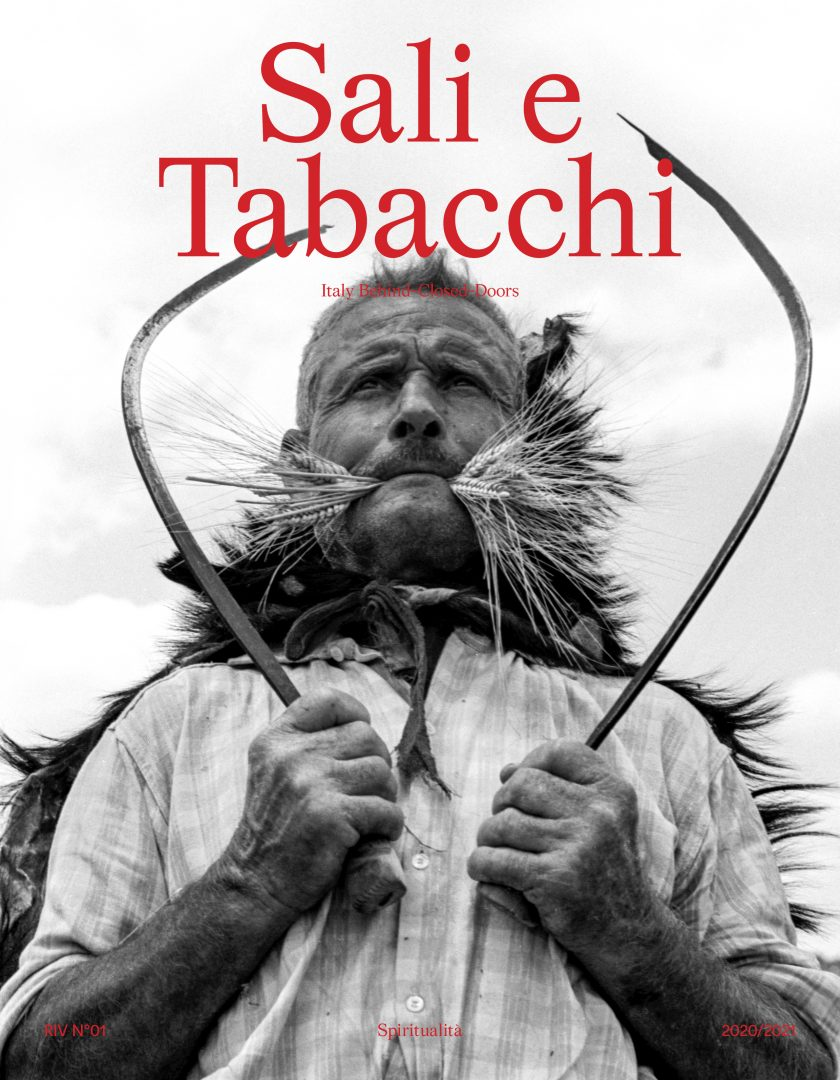 Sali e Tabacchi Journal N°01, Cover, Photography by Archivio Franco Pinna