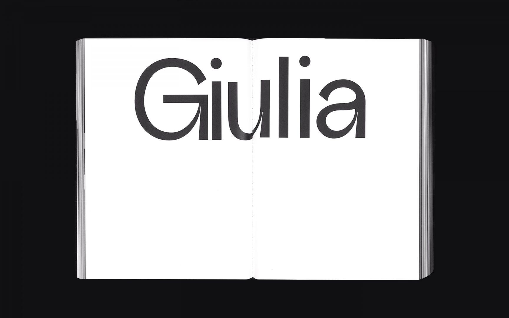Giovanni Grotesk, Typeface, Specimen Book