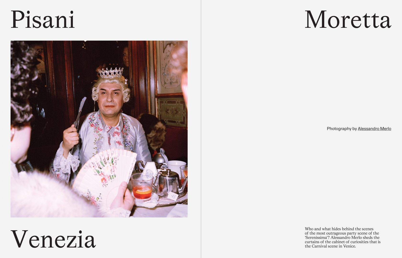 Sali e Tabacchi Journal, Pisani Moretta Venezia, Photographed by Alessandro Merlo