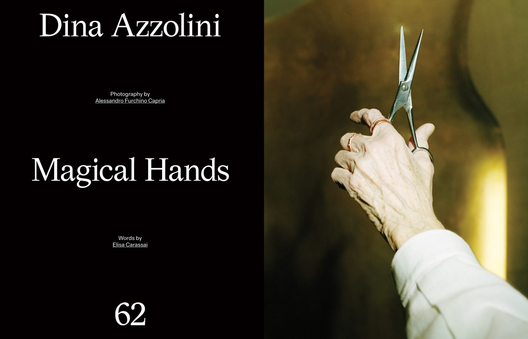 Sali e Tabacchi Journal, Photographed by Alessandro Furchino Capria