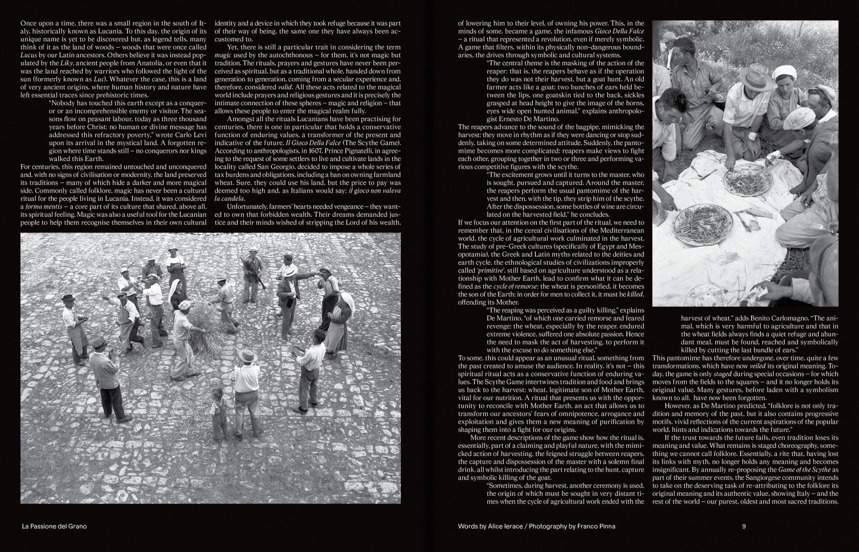 Sali e Tabacchi Journal N°01, Photography by Archivio Franco Pinna