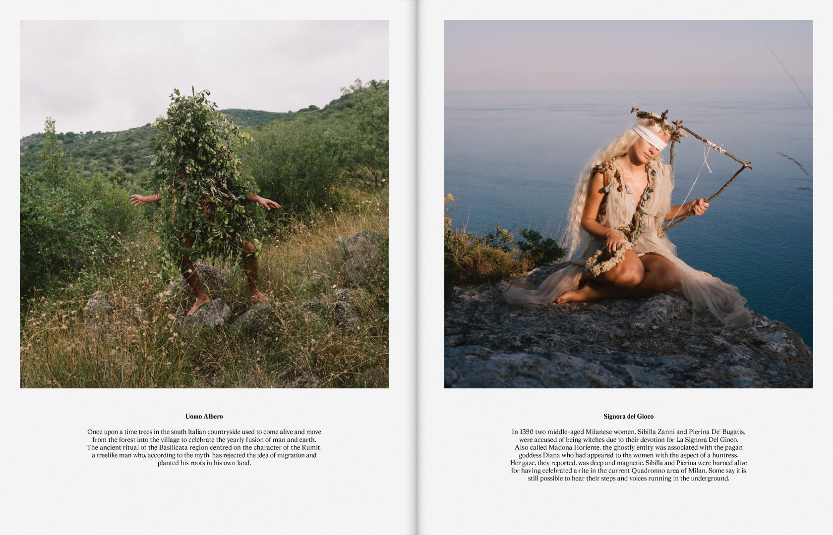 Sali e Tabacchi Journal N°01, Photographed by Alessandro Merlo