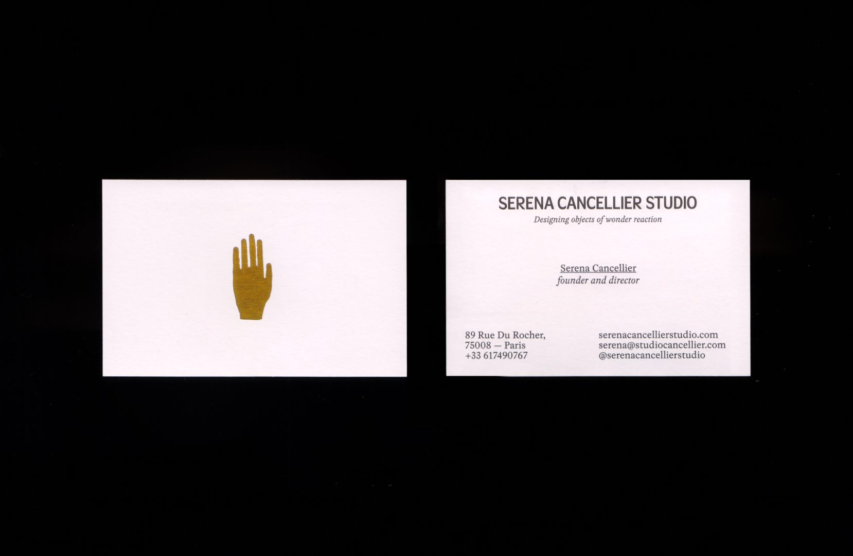 Serena Cancellier Studio, Art Direction and Branding, Photographed by Riccardo Raspa
