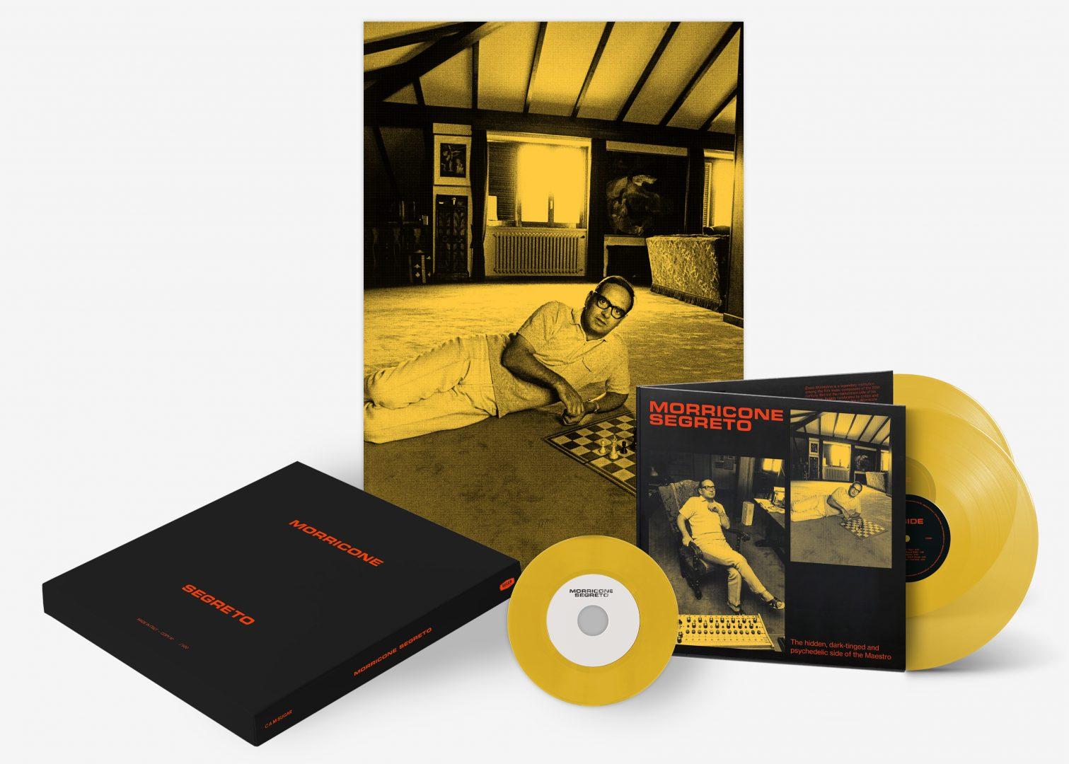 Morricone Segreto, Double LP, CD, Collectors Edition. Photography by Luciano Viti's Archive